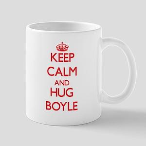 Keep calm and Hug Boyle Mugs