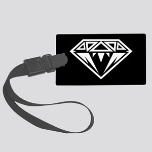 Diamond with pattern Luggage Tag