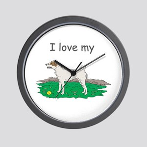 I love my Jack Russell Wall Clock