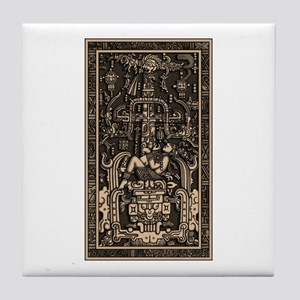 Sala Tumba de Pakal3 Tile Coaster