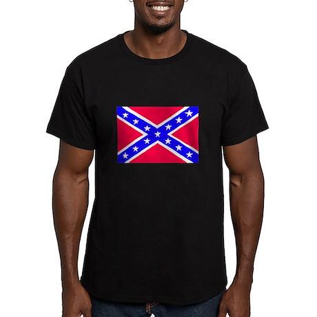 Rebel Flag Ash Grey T-Shirt