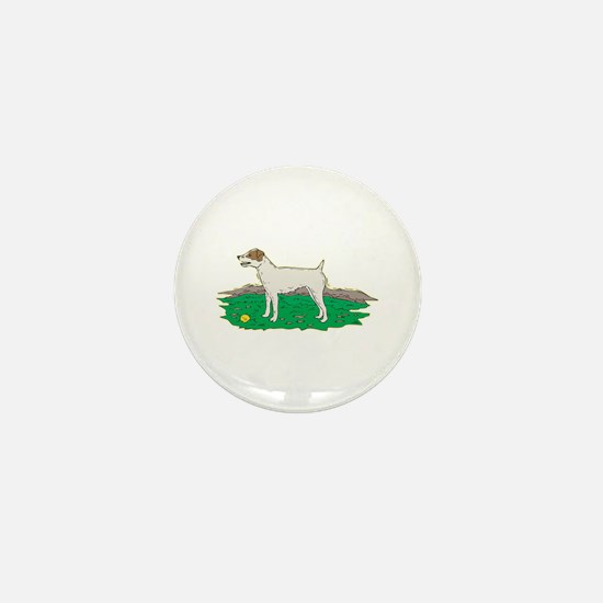 Jack Russell Mini Button