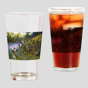 Cuidado - Take Care Drinking Glass