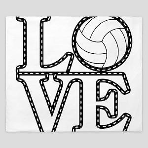 Love Vollebyabll King Duvet