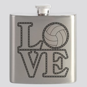 Love Vollebyabll Flask