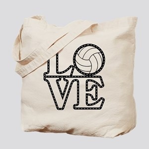 Love Vollebyabll Tote Bag