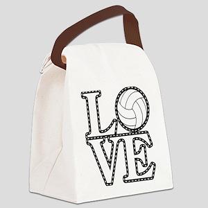 Love Vollebyabll Canvas Lunch Bag