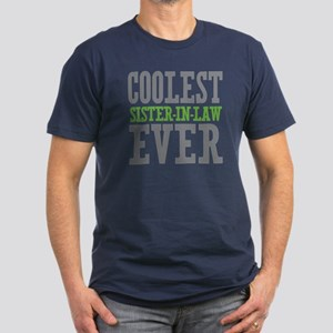 Coolest Sister-In-Law Ever Men's Fitted T-Shirt (d