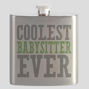 Coolest Babysitter Ever Flask