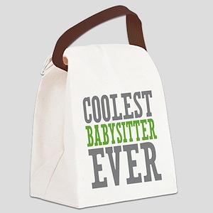 Coolest Babysitter Ever Canvas Lunch Bag