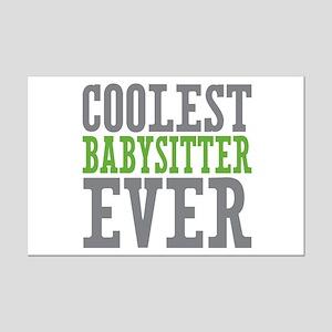 Coolest Babysitter Ever Mini Poster Print