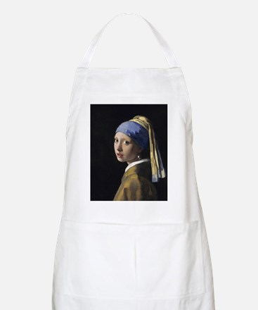 Jan Vermeer Girl With A Pearl Earring Apron
