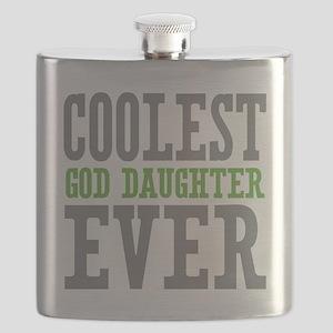 Coolest God Daughter Ever Flask