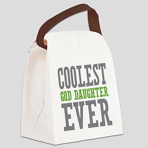 Coolest God Daughter Ever Canvas Lunch Bag