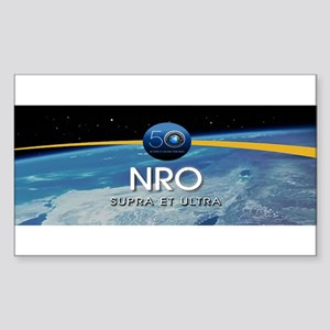 NRO at 50!! Sticker (Rectangle)