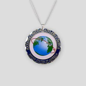 NRO Logo Necklace Circle Charm