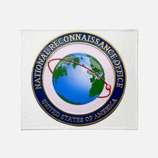 NRO Logo Throw Blanket