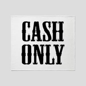 Cash Only Stadium Blanket
