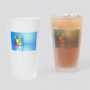 cube Drinking Glass
