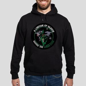 Green Door Outfit Hoodie (dark)