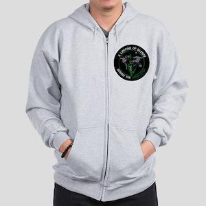 Green Door Outfit Zip Hoodie