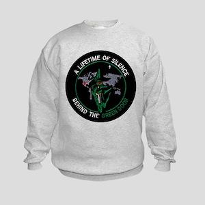 Green Door Outfit Kids Sweatshirt