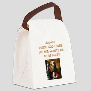salad Canvas Lunch Bag