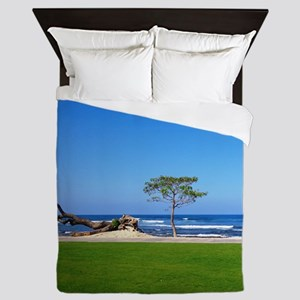 ready for the island Queen Duvet