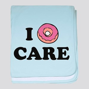 I Donut Care baby blanket