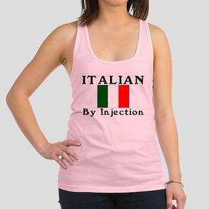 Italian by injection Racerback Tank Top