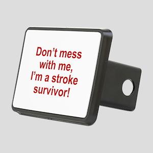 I'm A Stroke Survivor Rectangular Hitch Cover