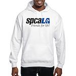 spcaLA logo, color Hoodie