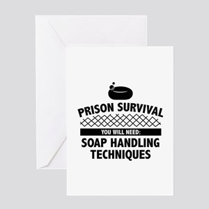 Prison Survival Greeting Card