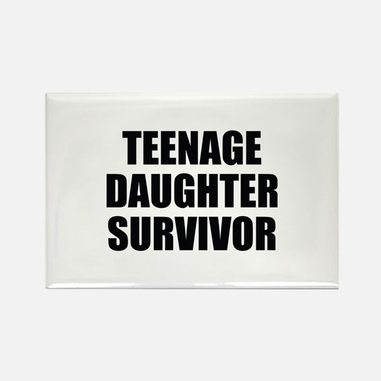 Teenage Daughter Survivor Rectangle Magnet