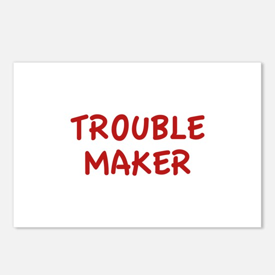Trouble Maker Postcards (Package of 8)