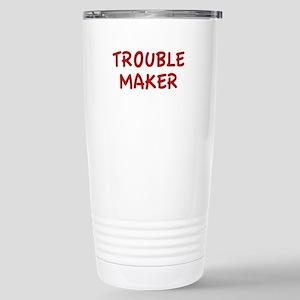 Trouble Maker Stainless Steel Travel Mug