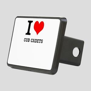 I Heart Cub Cadets Hitch Cover