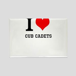 I Heart Cub Cadets Magnets