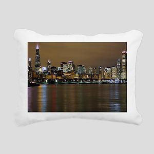 Chicago  Rectangular Canvas Pillow