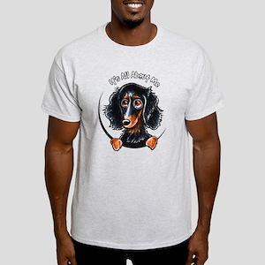 Dachshund Longhair B/T IAAM Light T-Shirt