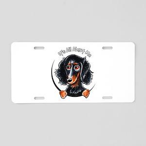 Dachshund Longhair B/T IAAM Aluminum License Plate