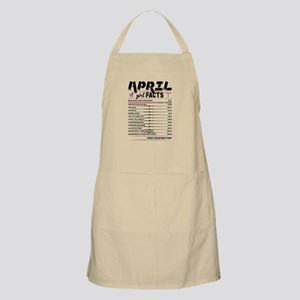 April Girl Facts Aries Light Apron