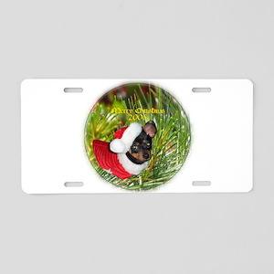 goornament Aluminum License Plate