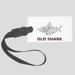 Old Shark Large Luggage Tag