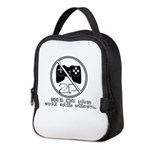 Does NOT play well with others Neoprene Lunch Bag