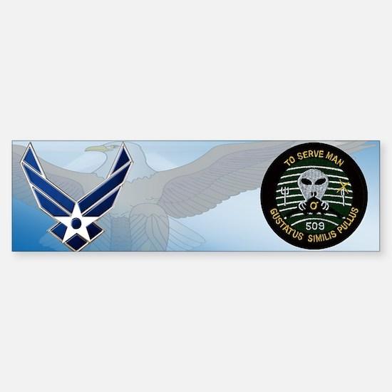 509th Bomb Group Bumper Bumper Bumper Sticker