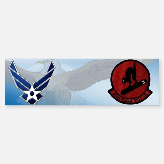 413th Test Squadron Sticker (Bumper)