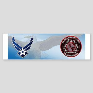 USAF Ghost Squadron Sticker (Bumper)