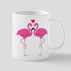 Pink Flamingoes Mugs
