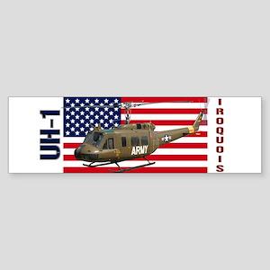 UH-1 Iroquois Bumper Sticker